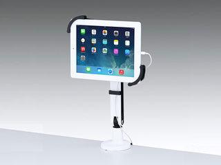 サンワサプライ 7~11インチ対応iPad・タブレット用アーム(クランプ式・1本アーム) CR-LATAB8