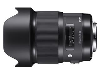 SIGMA/シグマ 20mm F1.4 DG HSM Art シグママウント SIGMAマウント