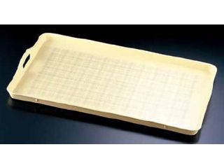 NAKANISHI/中西工芸 FRP大型配膳トレイ OHT-6240/クリーム地/チェック柄
