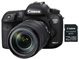 CANON/キヤノン EOS 7D Mark II(G)・EF-S18-135 IS USM レンズキット・W-E1 9128B134