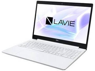NEC Core i5搭載15.6型ノートPC ラヴィ LAVIE Smart NS PC-SN164JFDF-C カームホワイト 単品購入のみ可(取引先倉庫からの出荷のため) クレジットカード決済 代金引換決済のみ