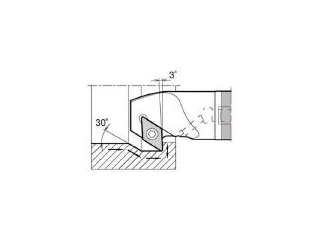 KYOCERA/京セラ 内径加工用ホルダ E12Q-SDZCR07-16A