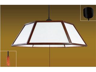 TAKIZUMI/タキズミ RV80111 LEDペンダントライト(木製枠/チェリー色)【~8畳】