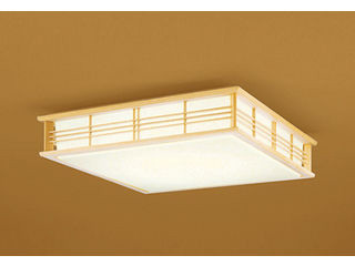 ODELIC/オーデリック OL251594BC 和LEDシーリングライト 白木【~12畳】【Bluetooth 調光・調色】※リモコン別売