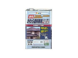 ASAHIPEN/アサヒペン かわら塗料専用シーラー 14L 透明(クリヤ)