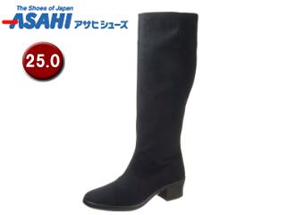 ASAHI/アサヒシューズ AF38941 TDY3894 トップドライ ゴアテックス レディースロングブーツ 【25.0cm・3E】 (ブラック)