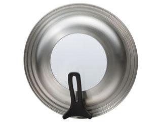 便利な調理器具「カイハウス セレクト」鍋蓋 貝印 Kai House SELECT ステンレス製フライパンカバー