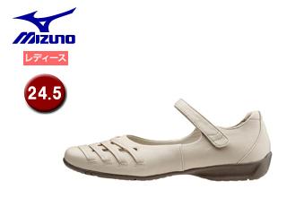 mizuno/ミズノ B1GH1565-02 SELECT420 ウォーキングシューズ レディース 【24.5】 (オフホワイト)
