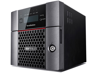 BUFFALO バッファロー LAN接続ハードディスク(NAS) TeraStation TS5210DNシリーズ 2ドライブ 2TB TS5210DN0202