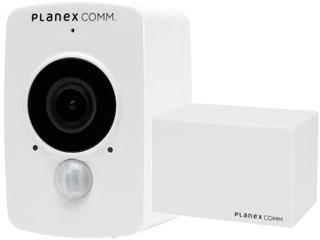 PLANEX/プラネックスコミュニケーションズ 限定特価 どこでもスマカメ(CS-QV40B)+クラウドレコーダー(DB-WRT01-CR)セットモデル CS-QV40B-CR