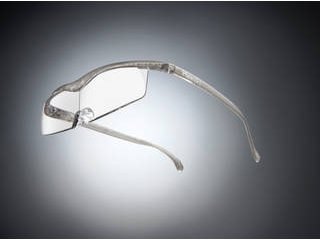 Hazuki Company/ハズキ 【Hazuki/ハズキルーペ】メガネ型拡大鏡 コンパクト クリアレンズ 1.85倍 チタンカラー 【ムラウチドットコムはハズキルーペ正規販売店です】