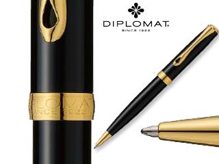 DIPLOMAT/ディプロマット 【Excellence A/エクセレンスエー】ブラックラッカー ゴールド BP