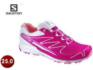 SALOMON/サロモン L37320900-C8921 SENSE PRO W 【25.0】 (LOTUS PINK/White/MELON BLOOM)