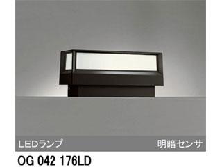 ODELIC/オーデリック 【取付には電気工事が必要です!】OG042176LD LED門柱灯 【明暗センサ付】