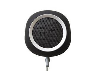 iui audio iui audio ウーファー搭載ポータブルスピーカー BeYo(ビーヨ) ブラック×シルバー TR-4265/BKSV