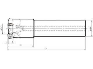 KYOCERA/京セラ ミーリング用ホルダ MFH28-S25-10-2T-200