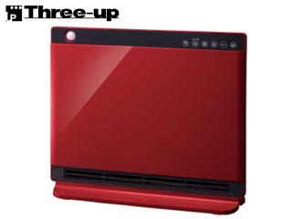 Three-up/スリーアップ CHT-1636RD 人感/室温センサー付 パネルセラミックヒーター 「NEWヒートワイドスリム」 (レッド)