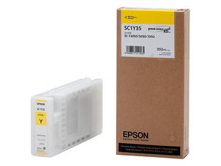 EPSON/エプソン Sure Color用 インクカートリッジ/350ml(イエロー) SC1Y35