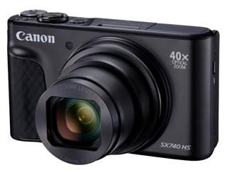 CANON/キヤノン 【梱包B級品特価】PowerShot SX740 HS BK(ブラック) コンパクトデジタルカメラ PSSX740HS(BK) 2955C004