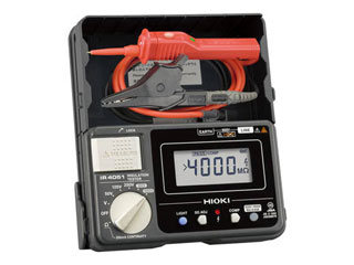 HIOKI/日置電機 5レンジ絶縁抵抗計 スイッチ付リード IR405111