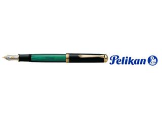 Pelikan/ペリカン 【Souveran/スーベレーン】M1000 F 緑縞