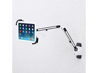 サンワサプライ 7~11インチ対応iPad・タブレット用アーム(壁面用・2本アーム) CR-LATAB11