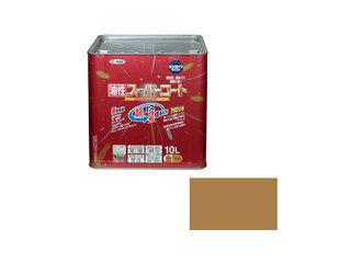 ASAHIPEN/アサヒペン 【納期未定】油性スーパーコート 10L ソフトオーカー