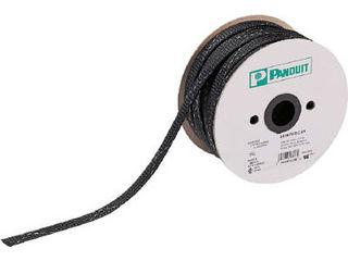 Panduit/パンドウイットコーポレーション ネットチューブ 難燃性タイプ 黒 SE75PFR-CR0