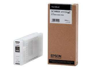 EPSON/エプソン Sure Color用 インクカートリッジ/350ml(マットブラック) SC1MB35
