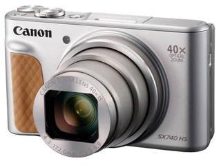 CANON/キヤノン 【梱包B級品特価】PowerShot SX740 HS SL(シルバー) コンパクトデジタルカメラ PSSX740HS(SL) 2956C004