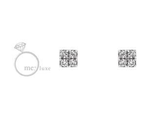 me.luxe/エムイーリュークス H&Qダイヤ ピアス ハートキュー ダイヤモンド ダイヤ 高級 ピアス ジュエリー プレゼント ギフト 包装 記念日