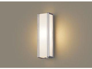 Panasonic/パナソニック LGWC81401LE1 LEDポーチライト シルバーメタリック【電球色】【明るさセンサ付】【壁直付型】