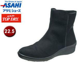ASAHI/アサヒシューズ AF39291 TDY39-29 トップドライ レイン ブーツ レディース 【22.5】 (ブラック)