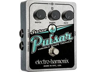 【nightsale】 electro harmonix/エレクトロハーモニクス Stereo Pulsar アナログトレモロ エフェクター 【国内正規品】
