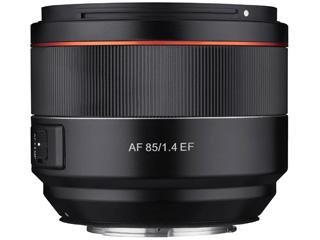 SAMYANG/サムヤン AF 85mm F1.4 EF Canon EF フルサイズ用 【お洒落なクリーニングクロスプレゼント!】