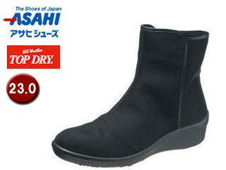ASAHI/アサヒシューズ AF39291 TDY39-29 トップドライ レイン ブーツ レディース 【23.0】 (ブラック)