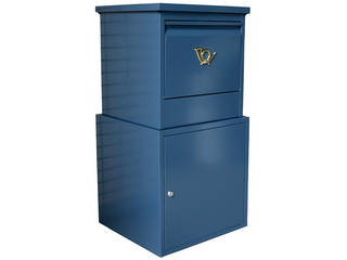 住まいスタイル【メーカー直送代引不可】 「horn」シリーズ 宅配ボックス DBOX875R-BLU グレイッシュブルー