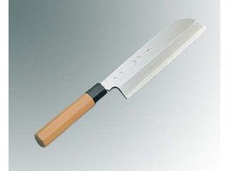 兼松作 銀三鋼 鎌型薄刃庖丁 19.5cm