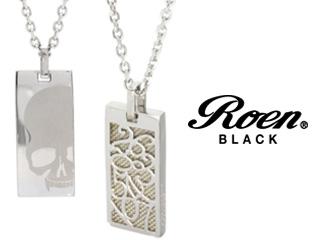 Roen BLACK/ロエンブラック rop-001 RoenBLACK パルファムナンバーネックレス 香水 パルファム ペンダント ネックレス アクセサリー ジュエリー スカル