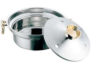 EBM EBM 電磁用 しゃぶしゃぶ鍋 穴明 27cm