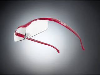 Hazuki Company/ハズキ 【Hazuki/ハズキルーペ】メガネ型拡大鏡 コンパクト クリアレンズ 1.85倍 ルビー 【ムラウチドットコムはハズキルーペ正規販売店です】