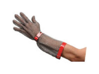 MIDORI ANZEN/ミドリ安全 ステンレス製 耐切創手袋ロングタイプ MST-550 SS/MST-550-SS