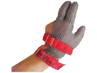 ニロフレックス ニロフレックス メッシュ手袋 3本指(1枚)L