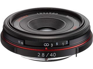 PENTAX/ペンタックス HD PENTAX-DA 40mmF2.8 Limited (ブラック) 超軽量薄型パンケーキレンズ pentaxlenscb2018