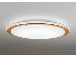 ODELIC/オーデリック OL251284BC LEDシーリングライト 木材(白色・クリア)【~12畳】【Bluetooth 調光・調色】※リモコン別売