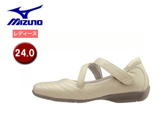 mizuno/ミズノ B1GH1660-49 セレクト525 ウォーキングシューズ レディース 【24.0】 (ライトベージュ)