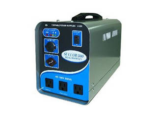 スワロー電機 スワロー電機 【受注生産のため納期約2週間】ポータブルバッテリー(電源)300VA Z-300