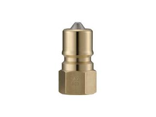 NAGAHORI/長堀工業 NAC/ナック クイックカップリング S・P型 真鍮製 オネジ取付用 CSP12P2