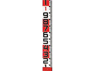 TJM DESIGN/TJMデザイン Tajima シムロンロッド-150長さ 10m/裏面仕様 1mアカシロ/紙函 SYR-10TK