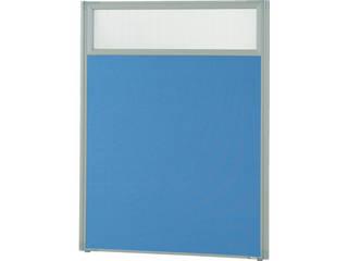 TRUSCO/トラスコ中山 【代引不可】ローパーティション 上部半透明 W900×H1165 ブルー TLP-1209U-B